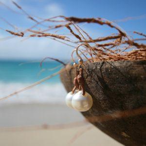 pearl earrings jewelry st barth