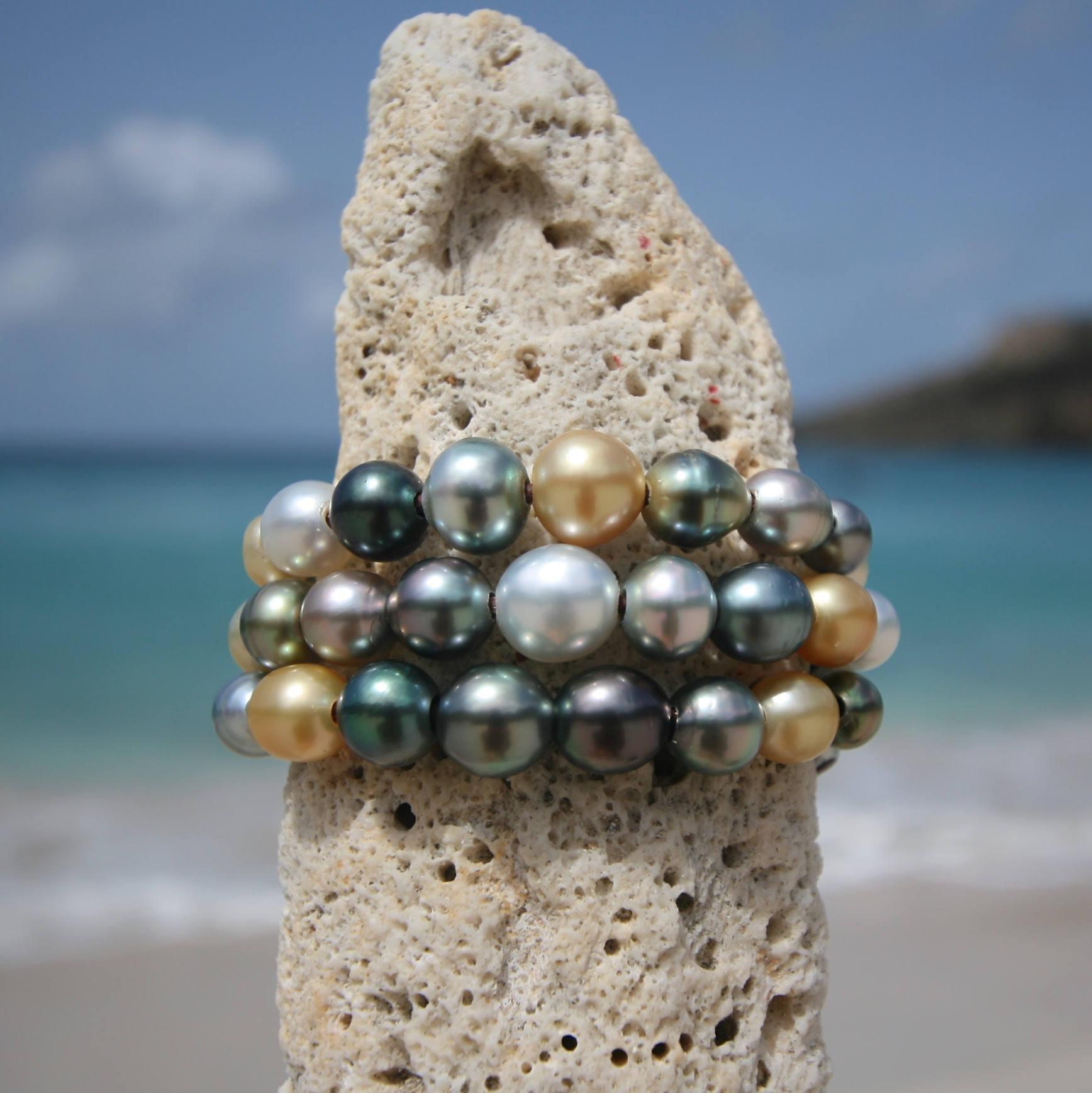 St barth jewelry pearls bracelet designs