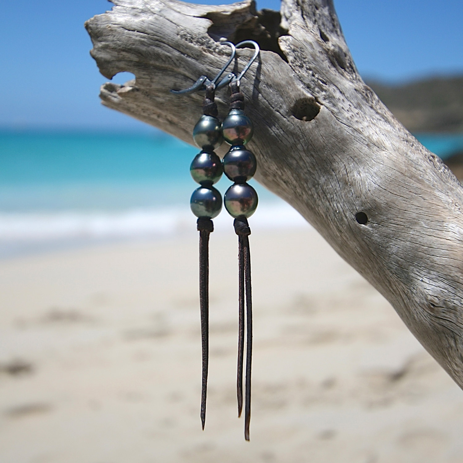 pearls earrings from st barth jewelry