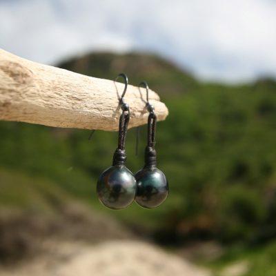 fine pearls earrings St Barts jewelry