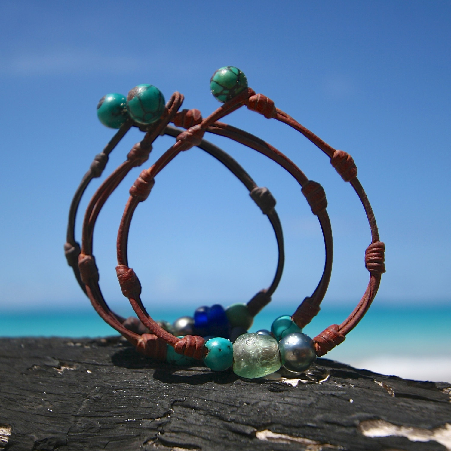 St Barthelemy island tailor made bracelet