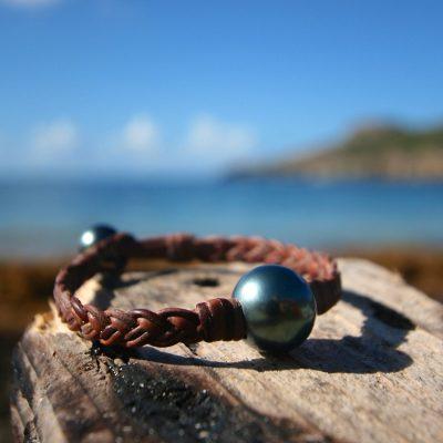 Tresors de st barth pearls bracelet