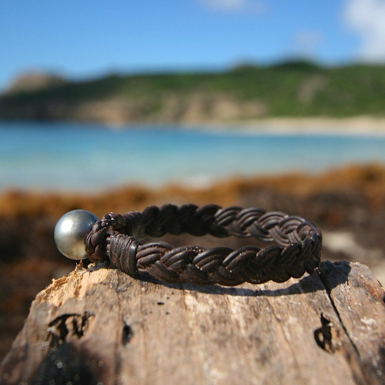 Jewelry St Barth braided men's bracelet