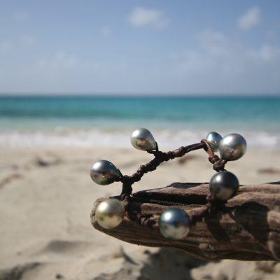 pearls bracelet gustavia st barths jewelry