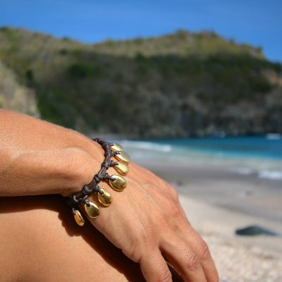shell beach jewelry st barth leather