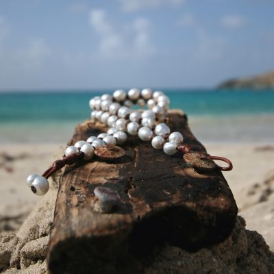 fine pearls leather st barths jewelry