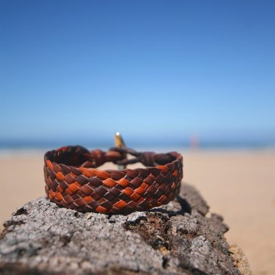 men's leather bracelet St Barths jewelry