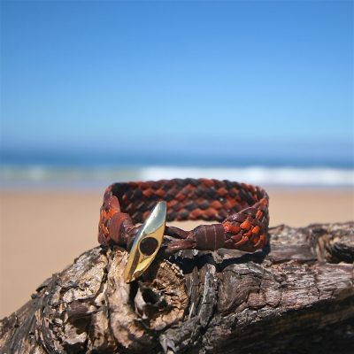 gold clasp braided bracelet st barth
