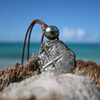 st barth pearls & leather jewelry