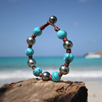 tahitian pearls Jewelry from St Barth