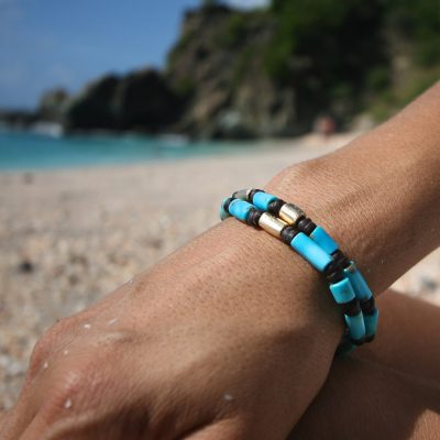 beach summer leather jewelry St Barth