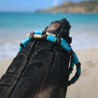 jewelry St Barth leather wrap bracelet