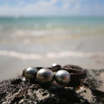 St Barts jewelry tahitian pearls bracelet