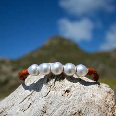 white pearls bracelet st barth jewelry