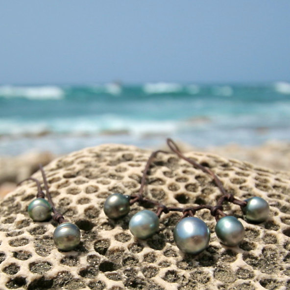 tahitian pearls necklace St Barth jewelry