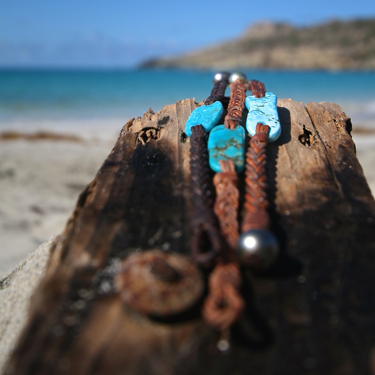 leather bracelet jewelry st barthelemy island