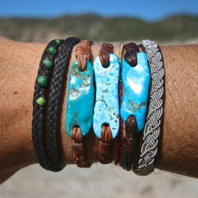one of a kind leather jewelry st barth