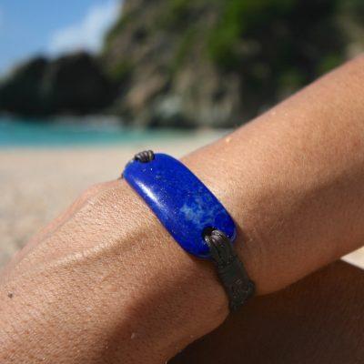 st barth island men's leather bracelets