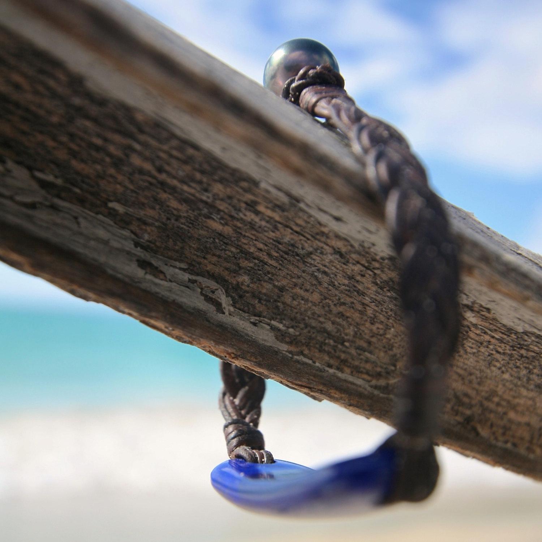 st barth island leather bracelet jewelry
