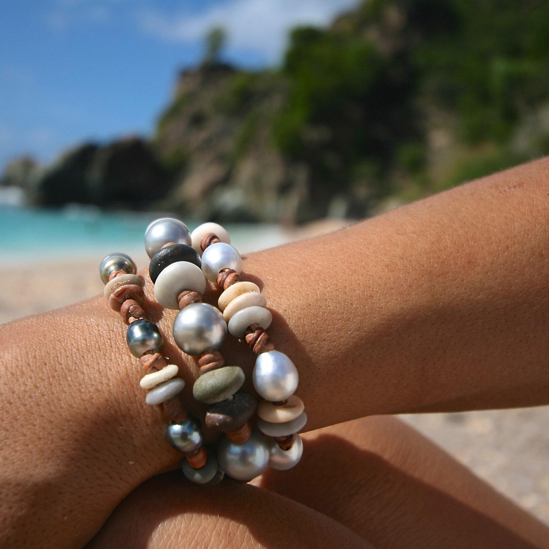 Tresors de st barth bijoux en perles