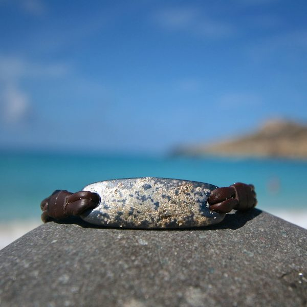 island life leather jewelry St Barth