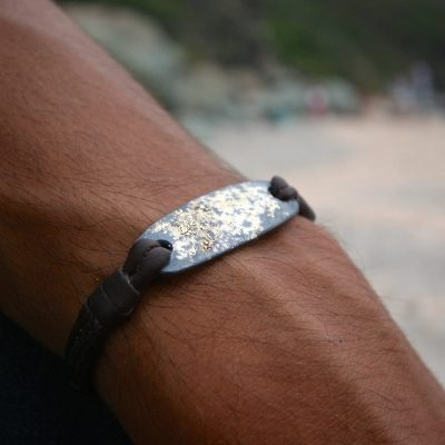 men's leather jewelry St Barth