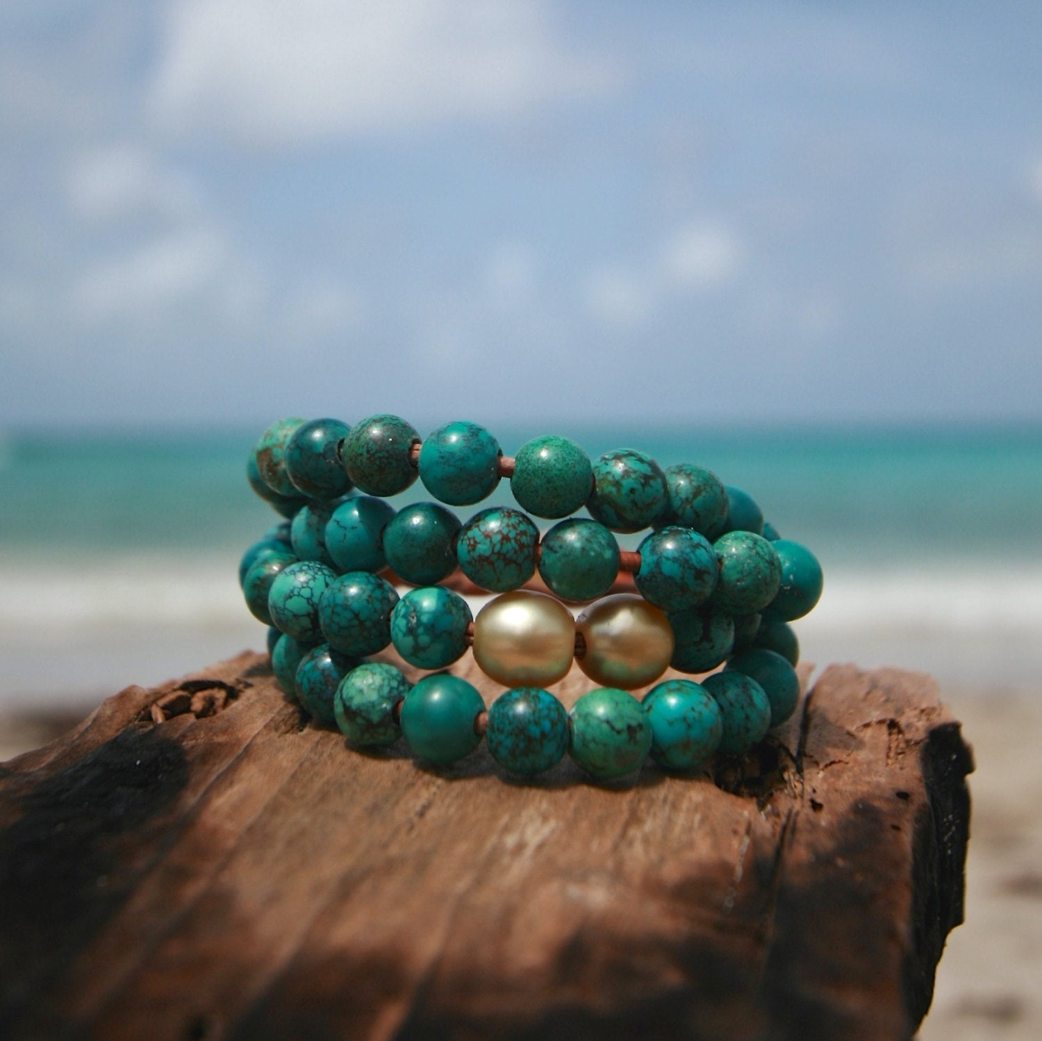 St barth jewelry pearls bracelet