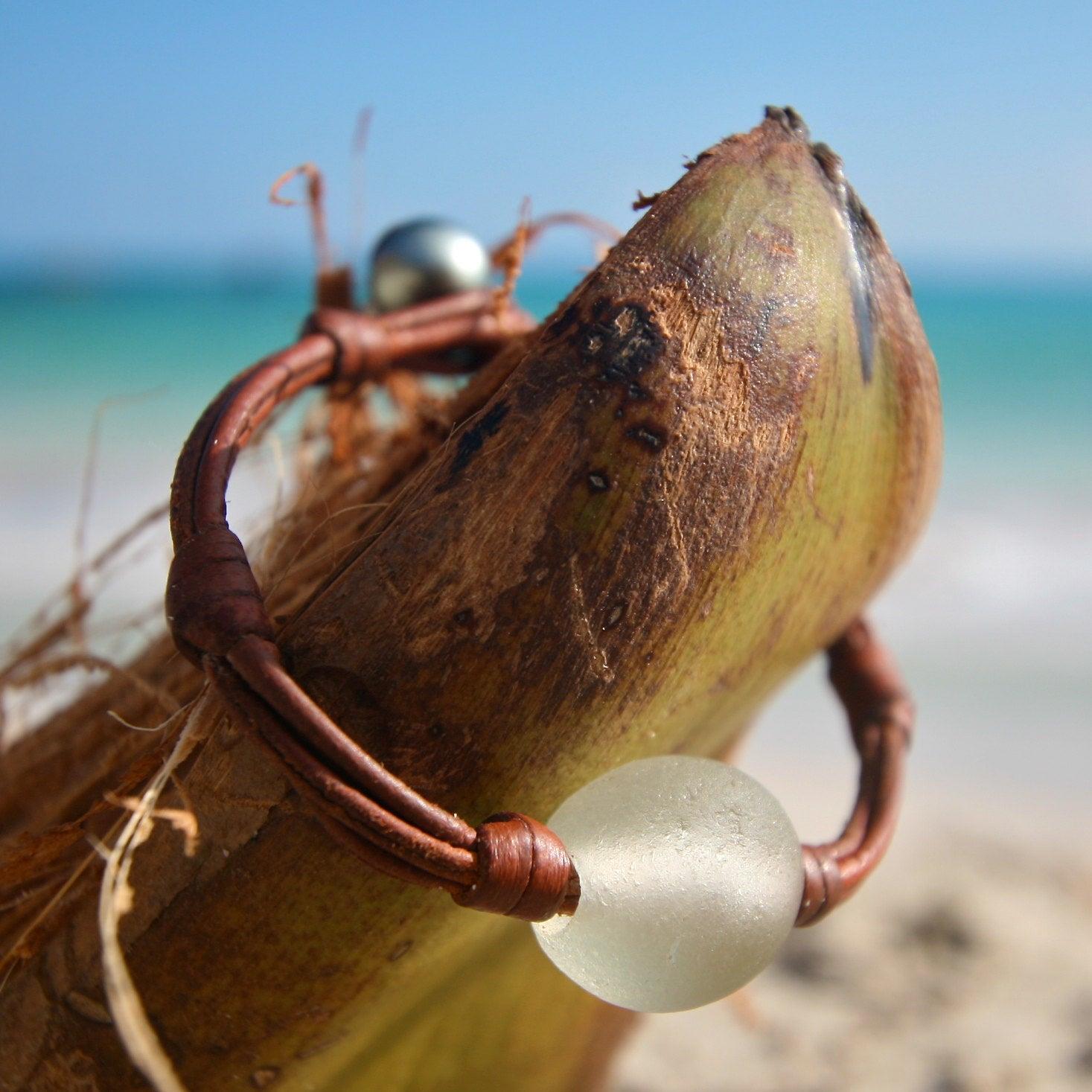sea glass jewelry design st barth