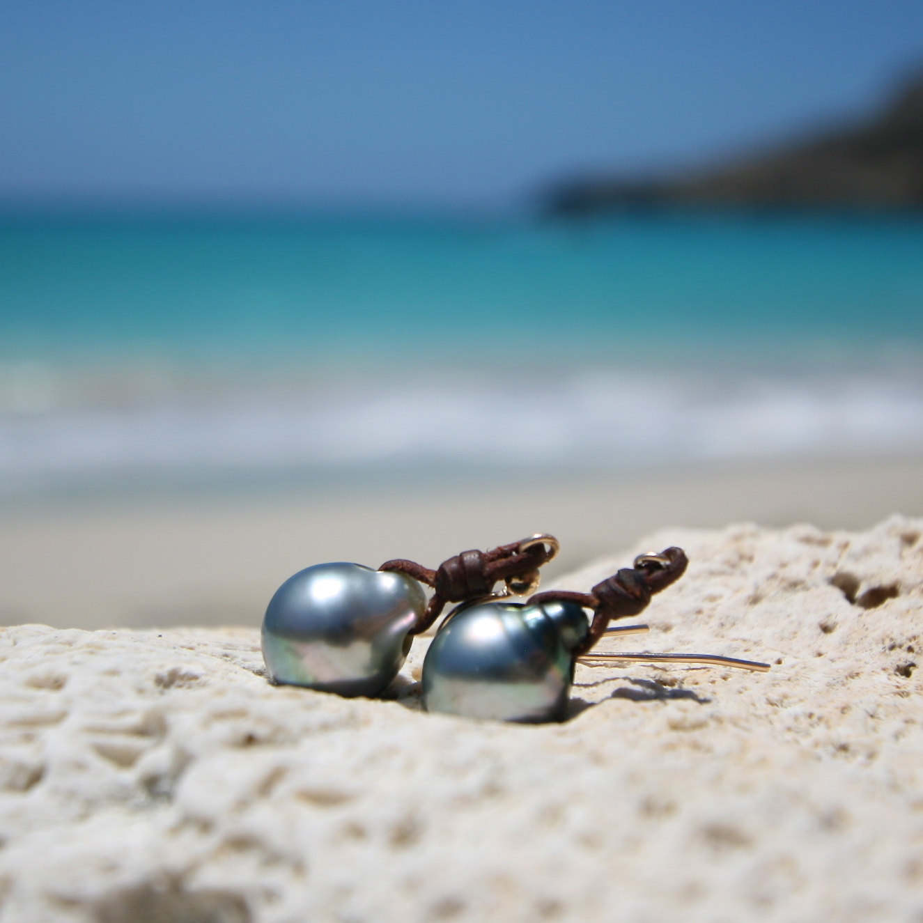Beach st barth jewelry summer earrings