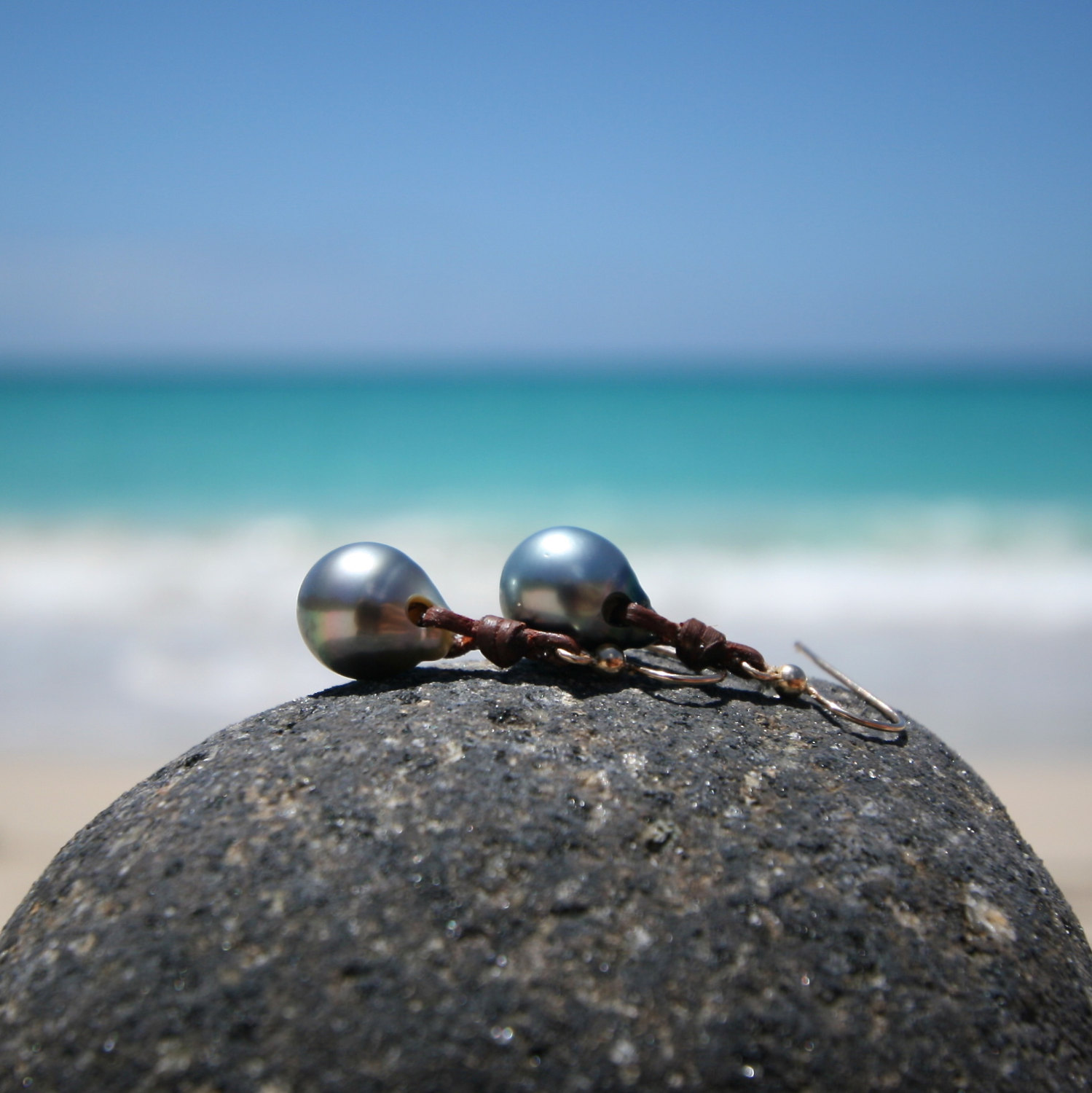 tahitian pearls earrings st barth jewelry