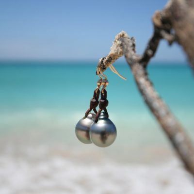 Pearls drops earrings st barth jewelry