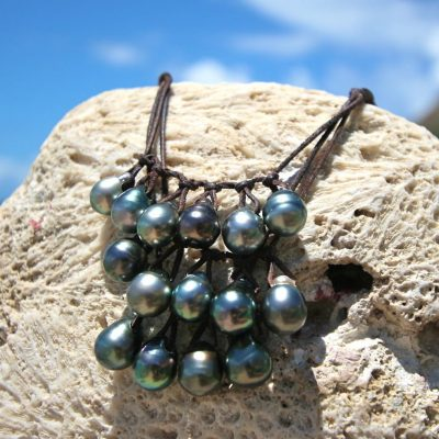 tahitian pearl necklace St barth jewelry