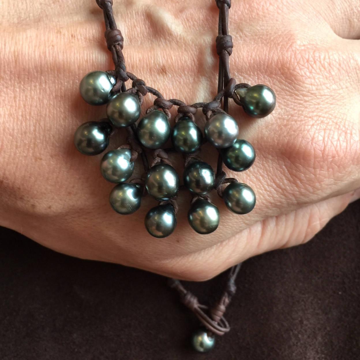 black pearls St barth jewelry