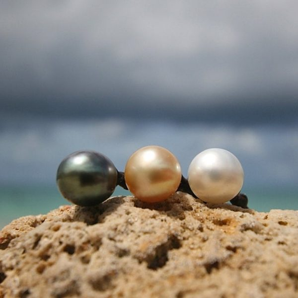South sea pearls necklace St Barth