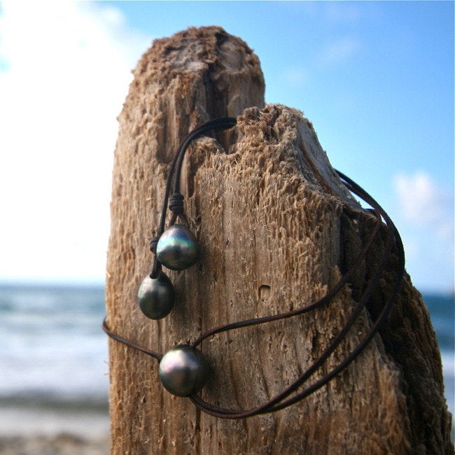 Tresors de st barth pearls necklace