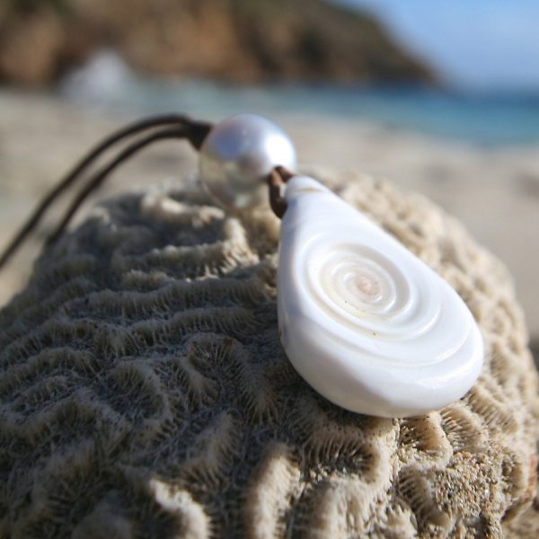 st barth jewelry leather beach necklace
