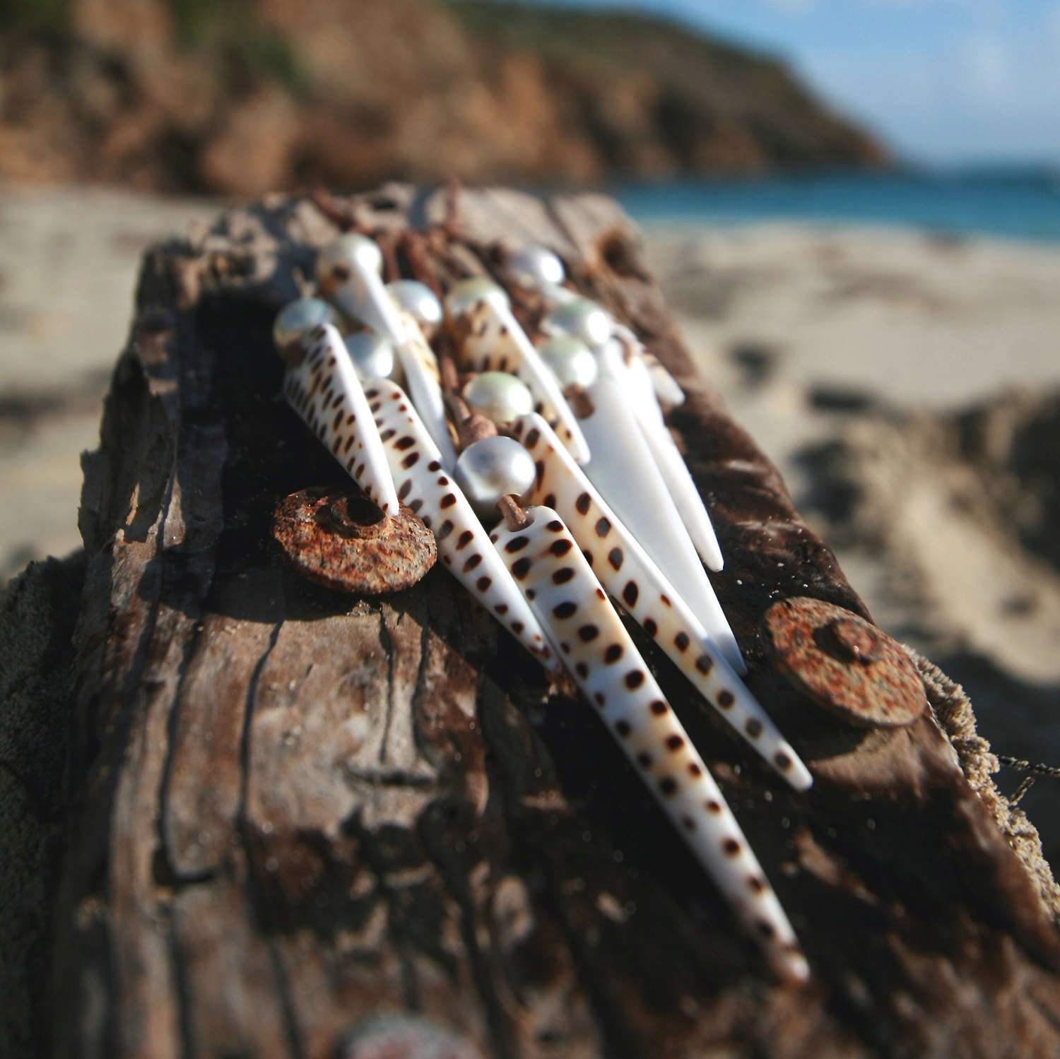 Gustavia pearls necklace St Barths jewelry