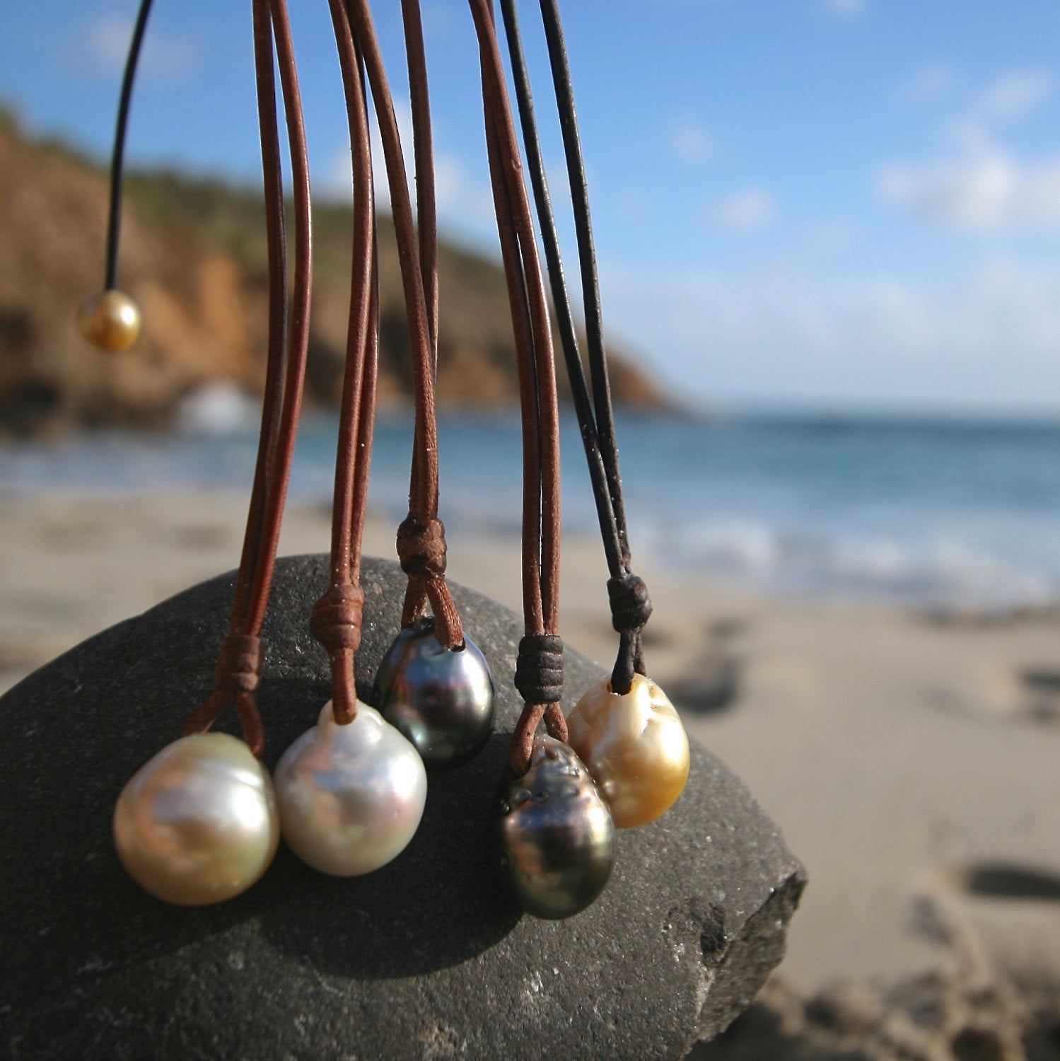 tresors de st barth pearls jewelry necklace