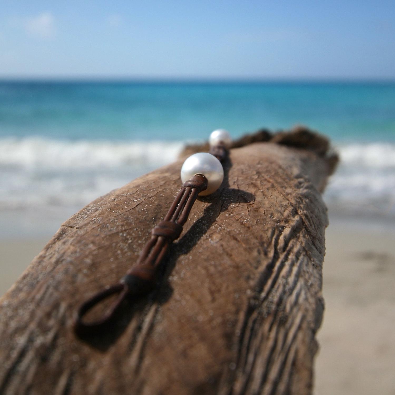 saline beach pearls st barth jewelry