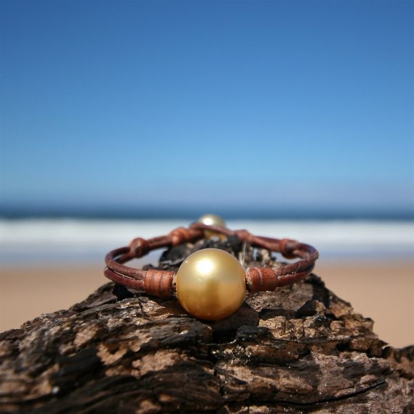 Huge pearls bracelet st barth jewelry