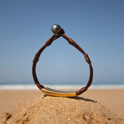 men's bracelet leather st barths jewelry