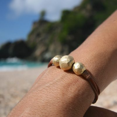 Tresors de st barth leather jewelry