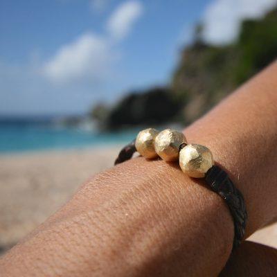 gold pearls jewelry st barth island