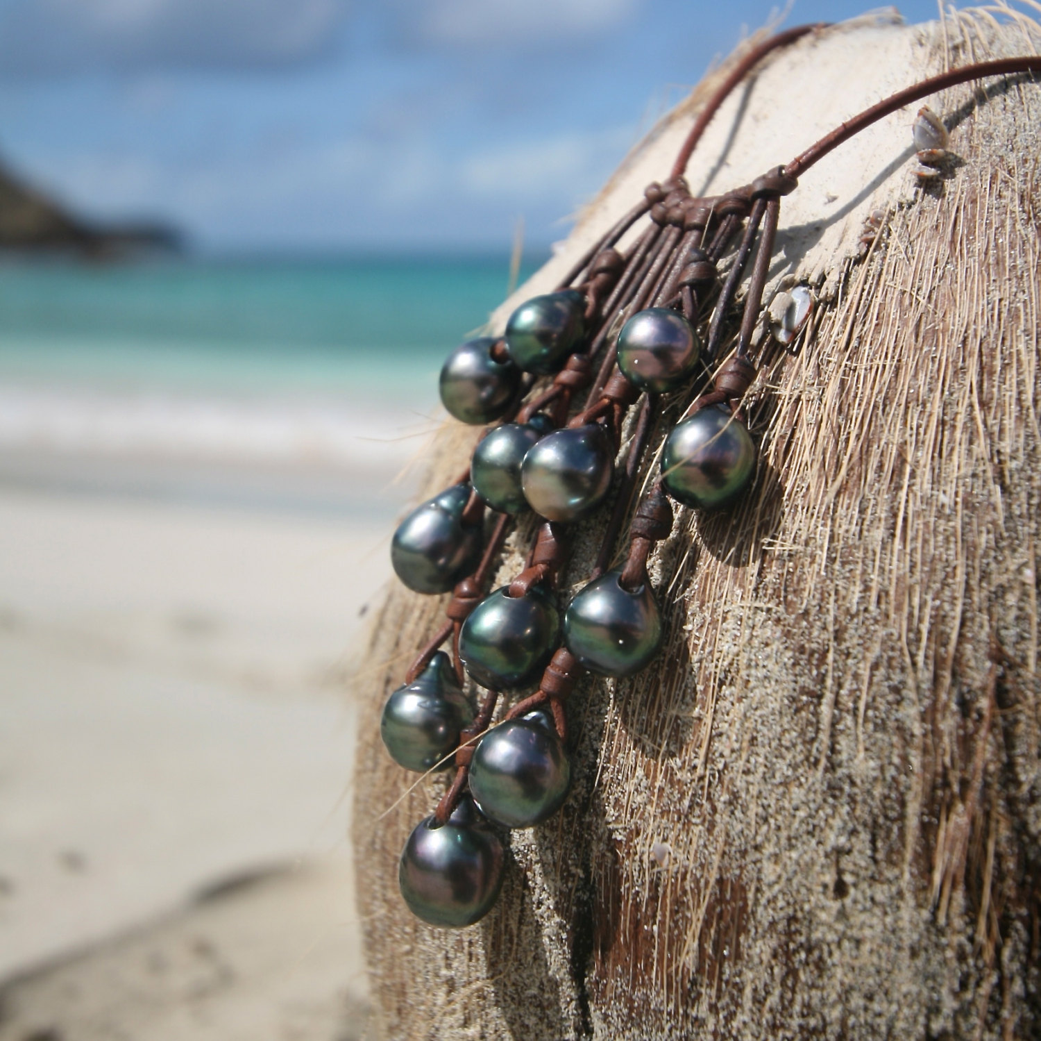 Tresors de st barth pearls necklace