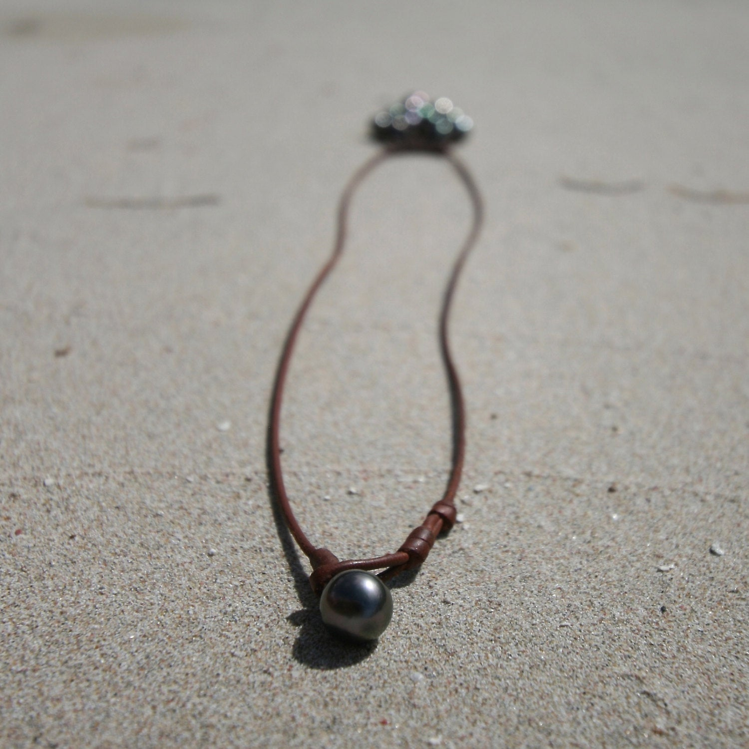black pearls necklace st barth jewelry