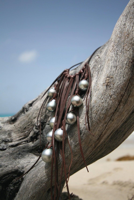 tahitian black st barth jewelry pearls
