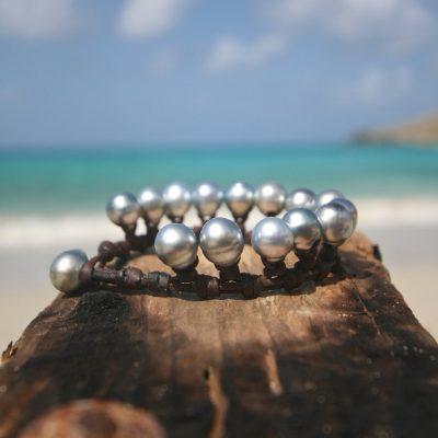 tahitian pearls Jewelry st barthelemy bracelet