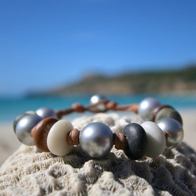 pebble Jewelry from St Barth island