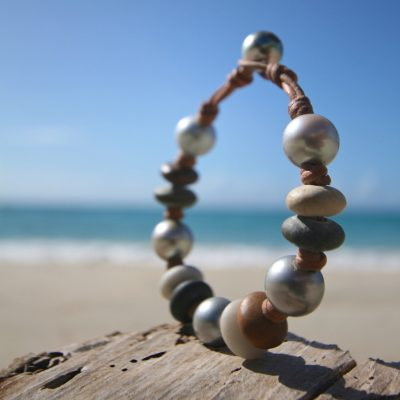 pebble and pearls Jewelry from St Barth