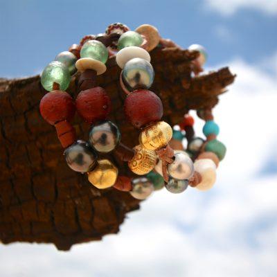 rare beads pearls bracelet st barth jewelry